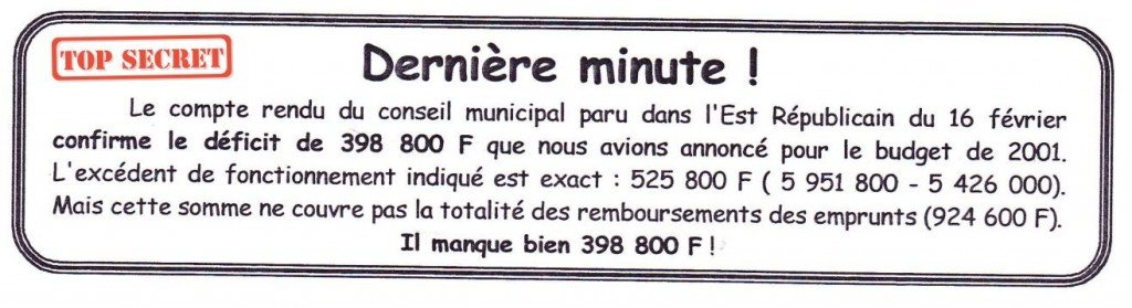 derniere-minute-2001 dans Insolite